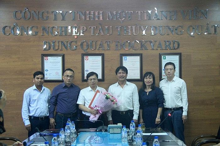 Bổ nhiệm Tổng giám đốc Công ty Công nghiệp Tàu thuỷ Dung Quất