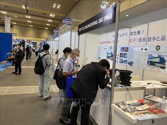Doanh nghiệp Việt Nam thu hút sự chú ý ở triển lãm M-Tech Osaka 2021