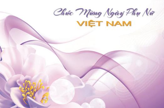 Chào mừng ngày phụ nữ Việt Nam 20.10