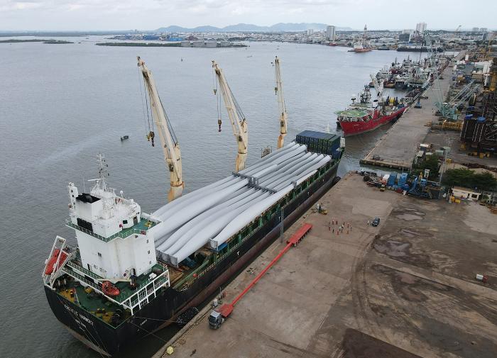 PV Shipyard: Trung tâm dịch vụ hậu cần của ngành điện gió Việt Nam.