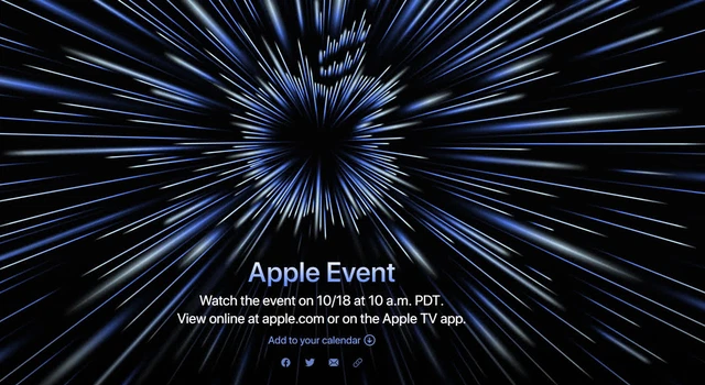 Apple sẽ tổ chức sự kiện ngày 18/10, hàng loạt sản phẩm hot được mong chờ