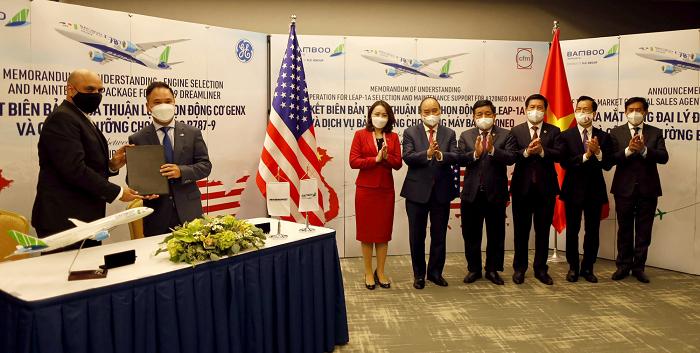 Bamboo Airways ra mắt tổng đại lý tại Mỹ và công bố đường bay thẳng Việt – Mỹ