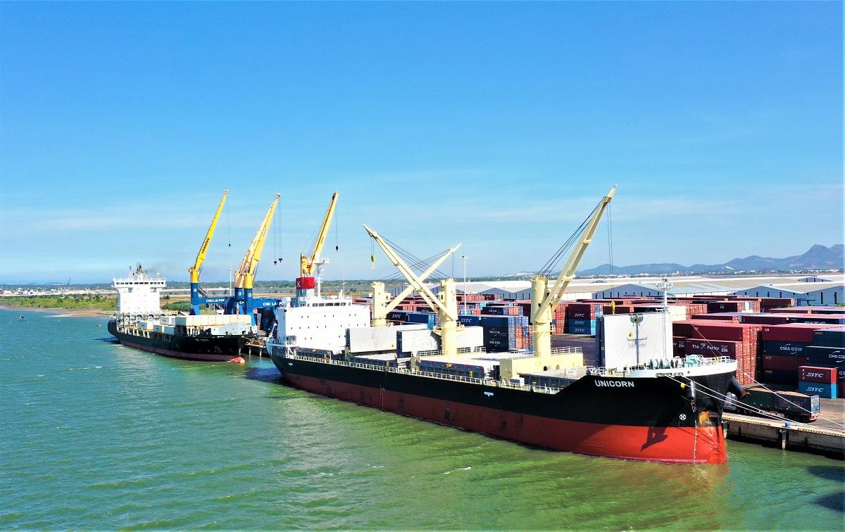 Phát triển xuất khẩu hàng viên nén, cảng Chu Lai đồng hành cùng doanh nghiệp