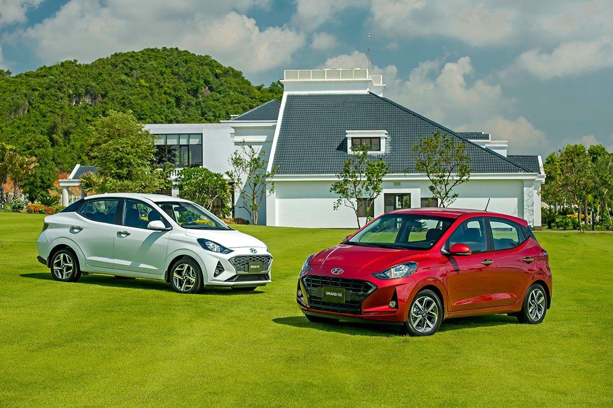 Hyundai Thành Công giữ chuỗi sản xuất khi ra mắt Grand i10 2021i