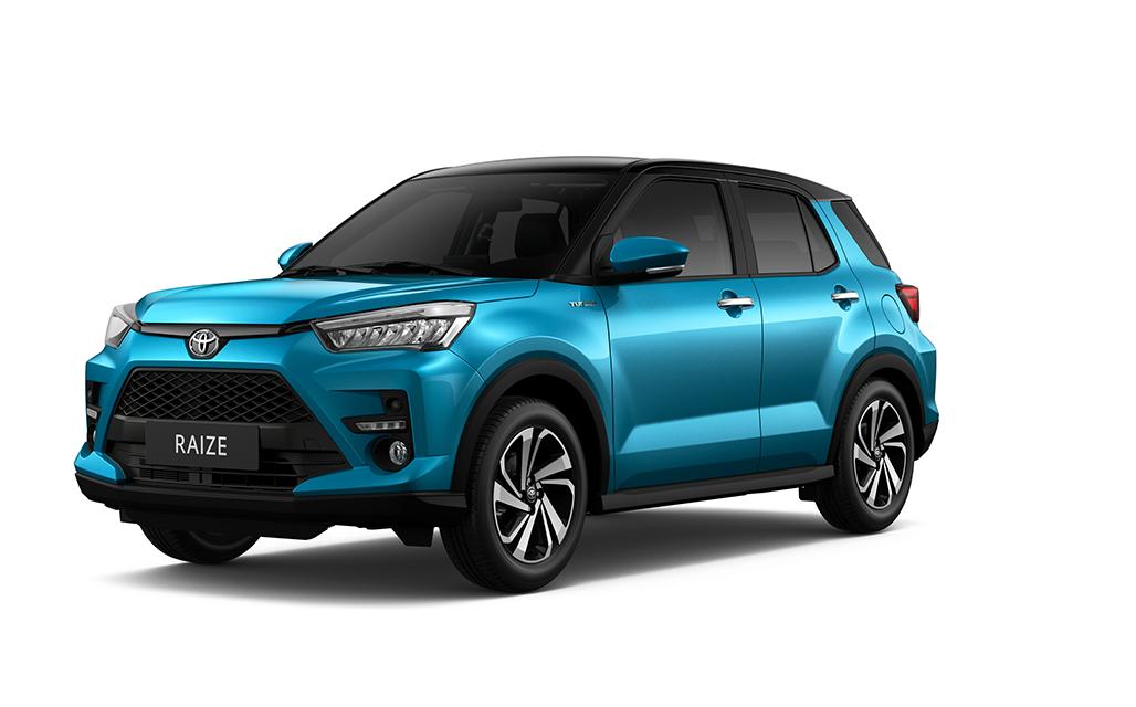 Toyota Raize sắp ra mắt khách hàng Việt