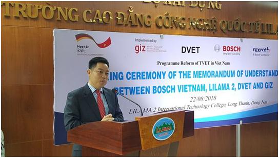 Bốn đơn vị ký kết biên bản ghi nhớ chương trình đổi mới đào tạo nghề tại Việt Nam