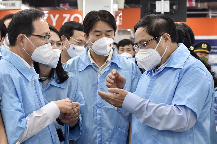 Thủ tướng: Chính phủ và nhân dân Việt Nam sẽ không phụ lòng tin của doanh nghiệp FDI