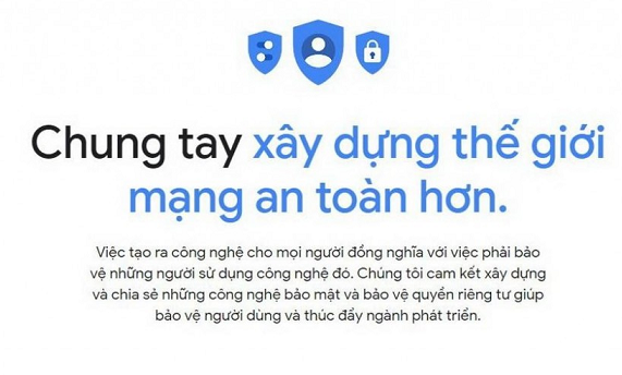 Google ra mắt Trung tâm An toàn dành cho người Việt