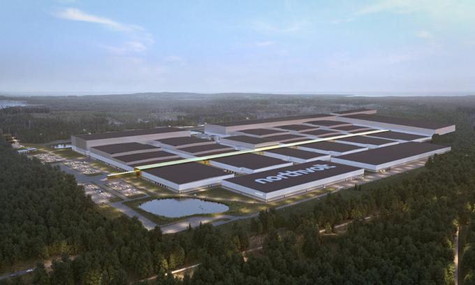 Thụy Điển xây siêu nhà máy pin xe điện 40 GWh